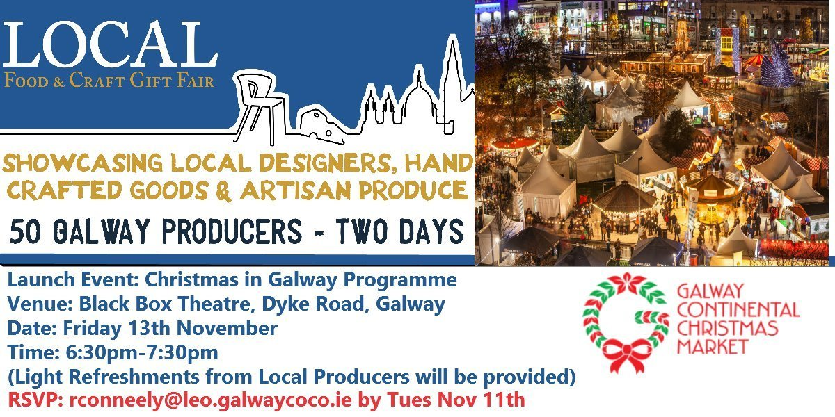 Christmas in Galway Invitation
